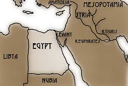 Lands around Egypt on map of egypt in biblical times, map of egypt in africa, map of egypt in history, map of egypt long ago,